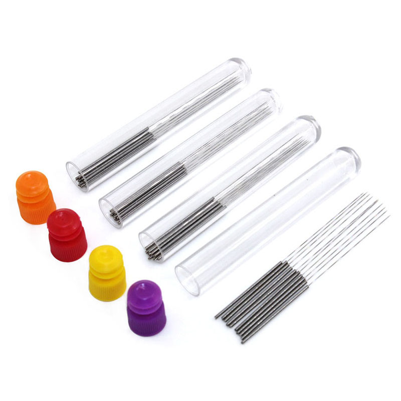 40pcs/lot Nozzle Cleaning Needle 0.2mm 0.25mm 0.3mm 0.35mm Optional Reprap Ultimaker Makerbot 3D Printer Accessories