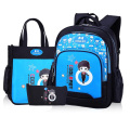 3 Pieces New Fashion Boy School Bags High Quality Nylon Children Backpack School Backpacks For Boys Child Book Bag