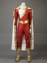 Captain Marvel Shazam Billy Batson Cosplay Costume Boots Mp003441China