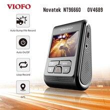 """Originale VIOFO A119 2.0 """"LCD Girevole Lente Condensatore Novatek 96660 HD 2K 1440p 1080P Car Dashcam macchina fotografica DVR con il GPS Dash Cam"""