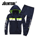 Jolintsai Plus Size 4XL Hooded Sportswear Men 2017 Mens Hoodies And Sweatshirts Tracksuit Men Hip Hop Sets Moleton Masculino