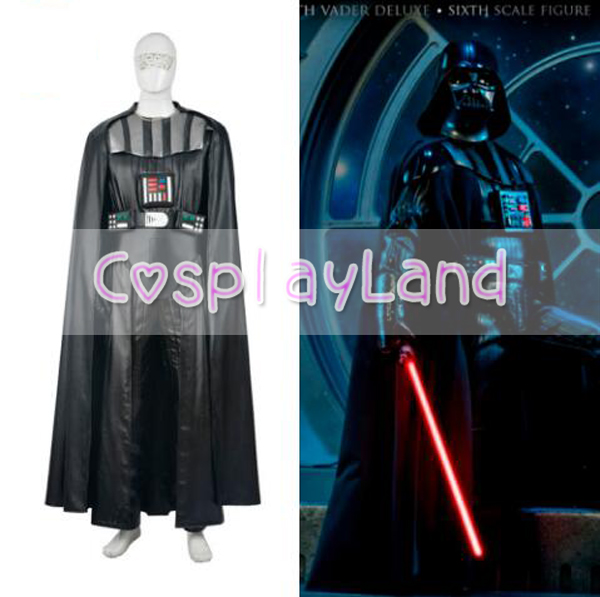 Star Wars Darth Vader Cosplay Costume Adulte Jedi Costume Entier Set Custom Made Drath A Vader Halloween Costumes Pour Adulte Hommes Outtfit