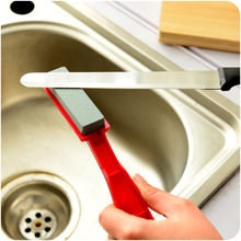 Portable kitchen Knife Sharpener Kitchen Tools Accessories Creative Handheld High Quality Grindstone