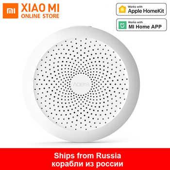 100% Original Xiaomi Mijia Aqara Hub Mi Gateway with RGB Led night light Smart work with For Apple Homekit International Edition - DISCOUNT ITEM  46% OFF All Category