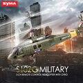SYMA S102G 3CH Mini Helicóptero do RC com Giroscópio de Rádio Controle Remoto Helicópteros Simulação Indoor Brinquedos para Os Entusiastas Militares