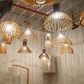 Nórdico Levou Luzes Pingente de Madeira Loft Lâmpadas Decoração Pingente Luminárias Cozinha Sala de estar Pendurado Quarto Lâmpadas Luminaria Suspensão