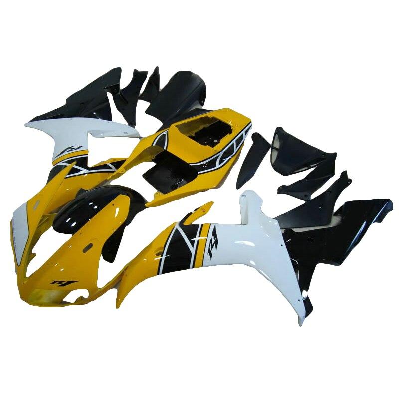 темно-желтый мотоцикл обтекатель комплект для YAMAHA R1 обтекатель комплект зеленый 02 03 YZFR1 2002 2003 обтекатели xl42