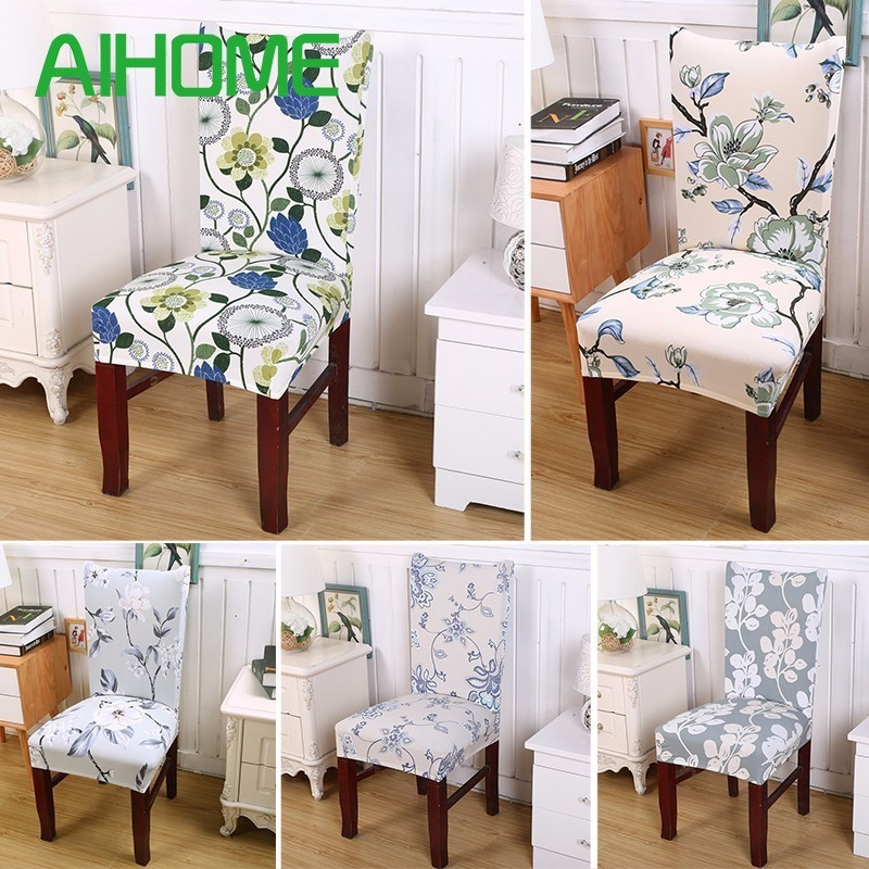 Chair Covers Cotton Cover Hire West Sussex Stretch Removable Blended Seat Elastic Protective Slipcovers Housse De Chaise
