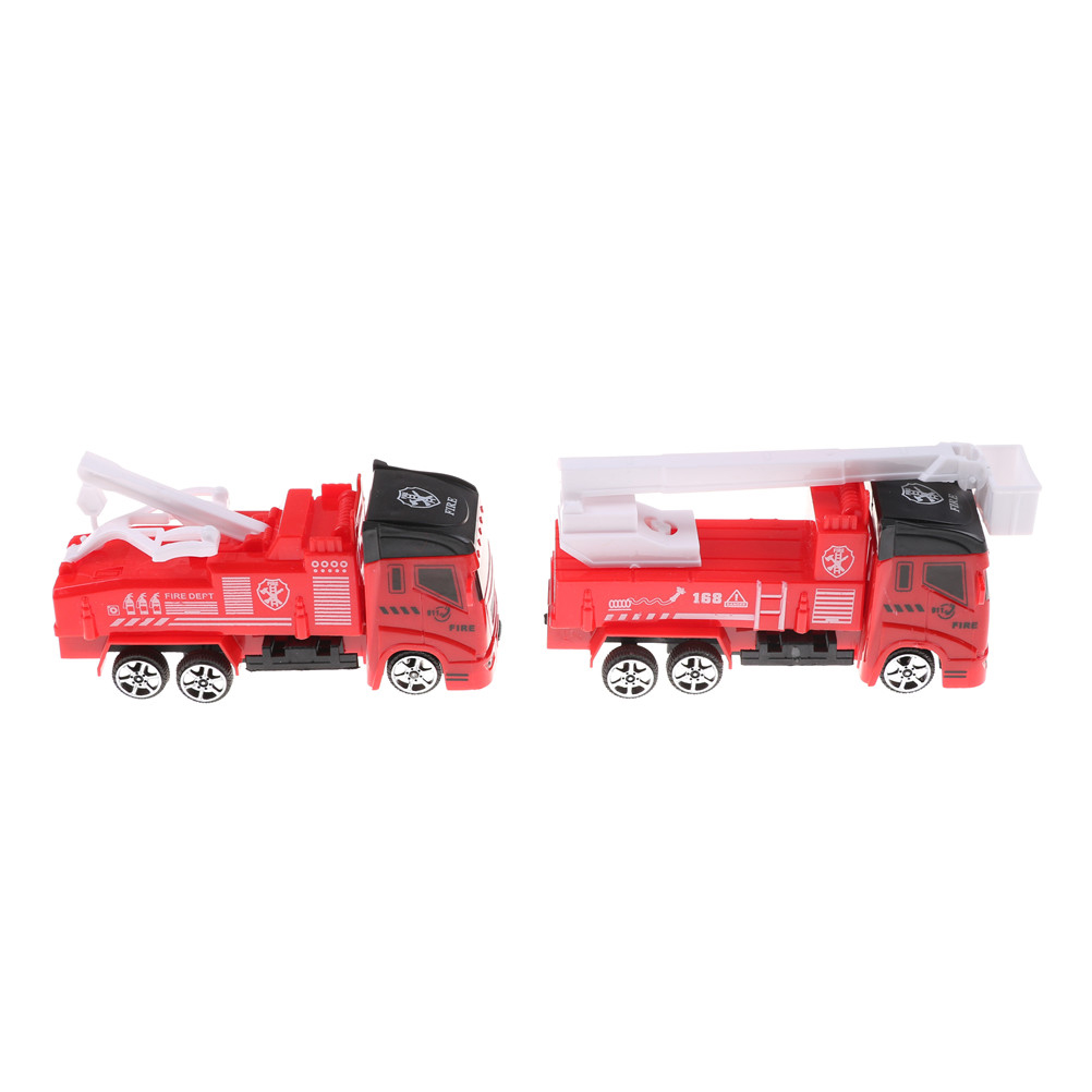 Frank 1pc Fire Truck Car Boy Educational Toy Childrens Vehicles Toys Mini Fireman Toy Christmas Birthday Gifts Diecasts & Toy Vehicles