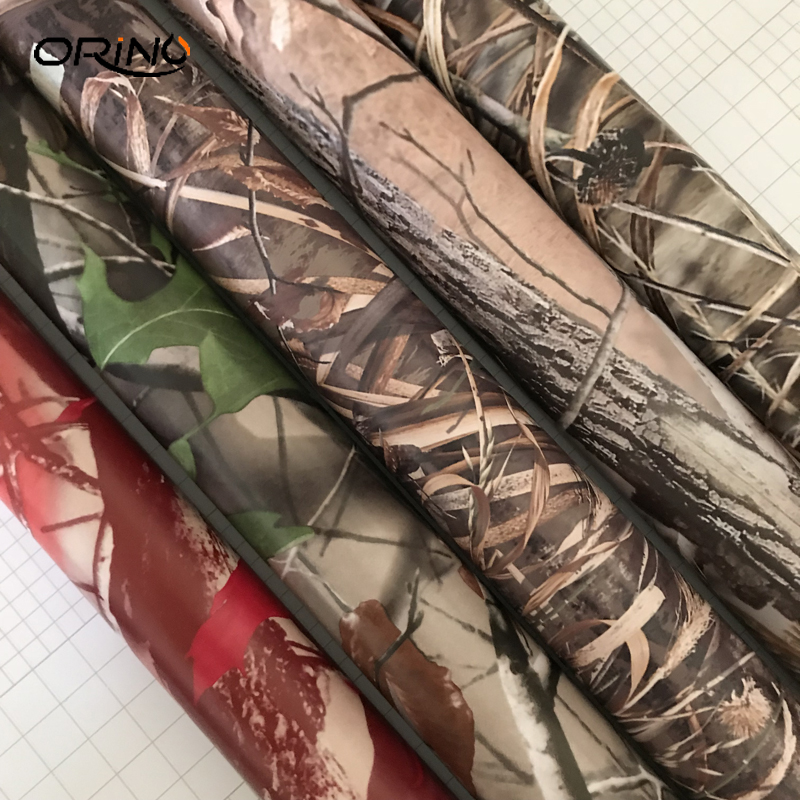 MATTE Realtree Camo Air Release Wrap Vinyl For Auto Truck Wraps Decals Size: 10/20/30/40/50X152CM