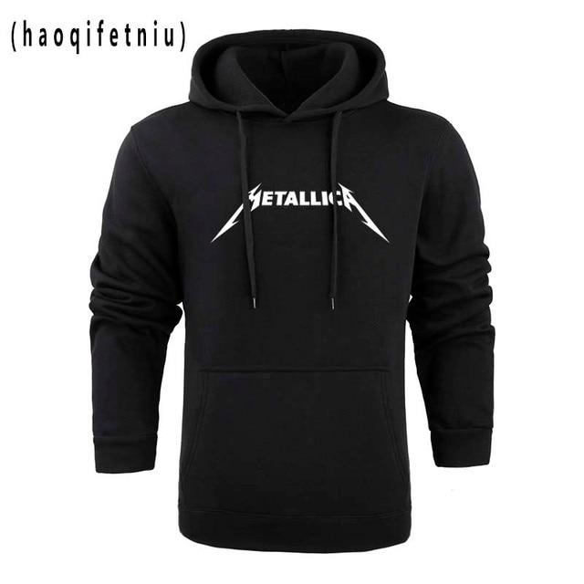 2018 хэви-метал, рок группа «Металлика» Толстовки Для мужчин хлопковые зимние свитер толстовка с капюшоном для Для мужчин Для женщин пуловер W25