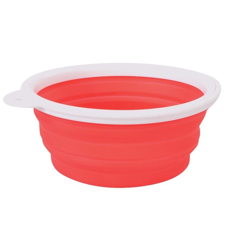 Pet Silica Gel Bowl Dog cat Plegable silicona dow bowl color caramelo - Productos animales