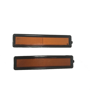 2pcs Rear Left Right Side Turn Signal Marker Light Lamp Lens For BMW E30 E32 E34 318i 318is 325es 325i 63 14 1 377 849 image