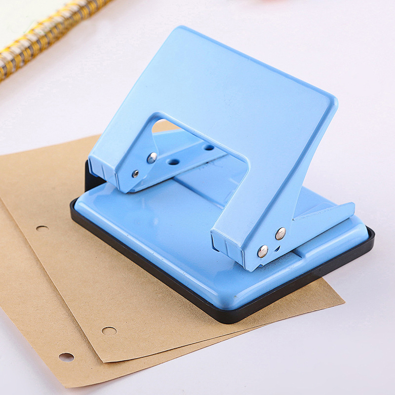 High Quality Handle Metal Paper Hole Punch Office School ...