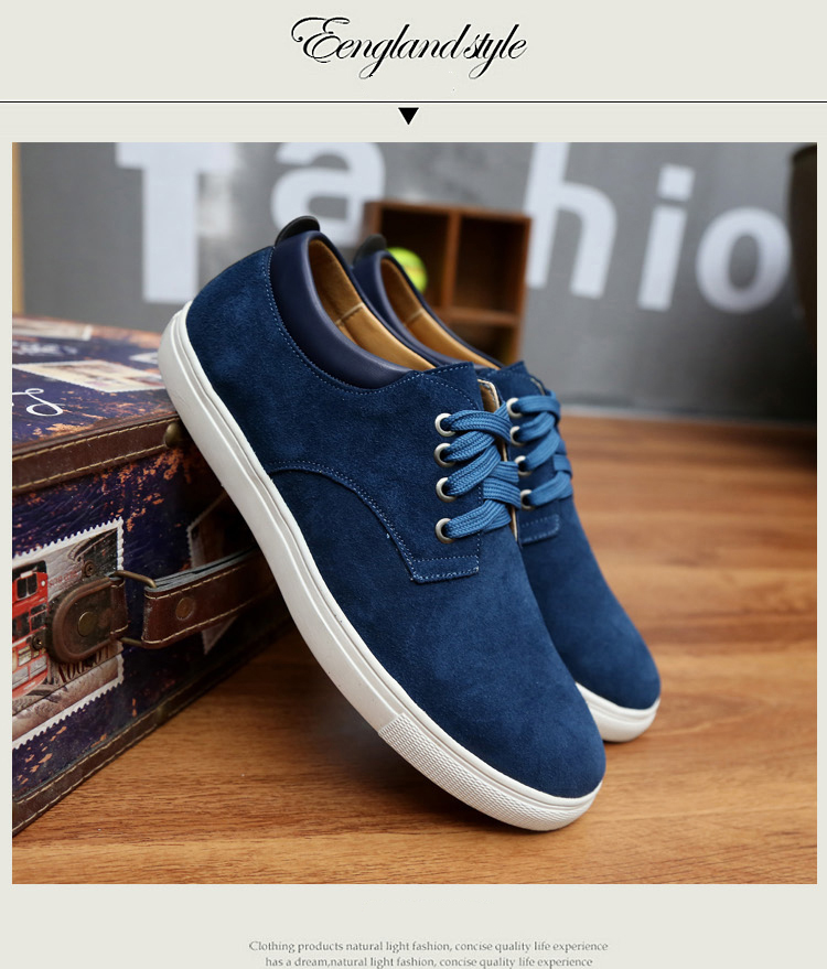 Suede Vulcanize Male Men 13