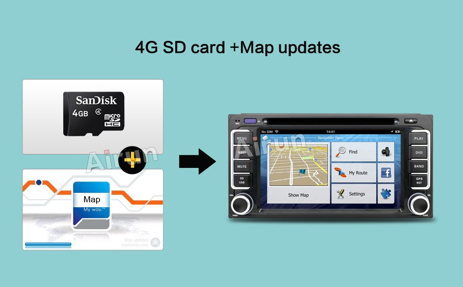 Car GPS States Video 10