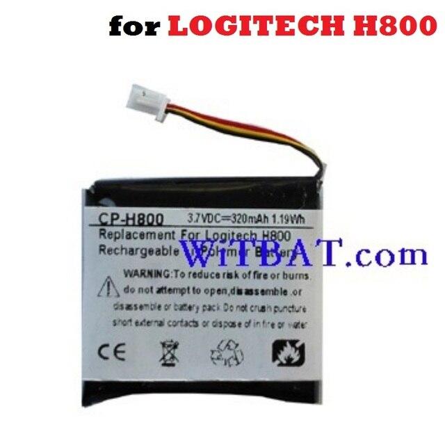 27fbbb3996c AHB472625PST Battery Replacement for LOGITECH H800 LOGITECHH800 Earphone  Headphone 3.7V 320mAh Li-Polymer Polymer