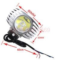 LED Car External Mounted Headlight Hi Low 15W 2000LM XHP70 Chip Motorcycle Fog DRL Headlamp Spotlight