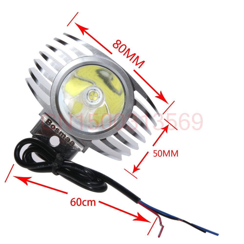 LED Car External Headlight 8W 10W 15W w/ CREE Chips 6000K White Motorcycle Fog DRL Headlamp Spotlight Hunting Driving Spot Light so k 4x p15d px15d t19 p15d 25 1 h6m 50w high power cree super bright motorcycle moto led headlight driving lamp drl white