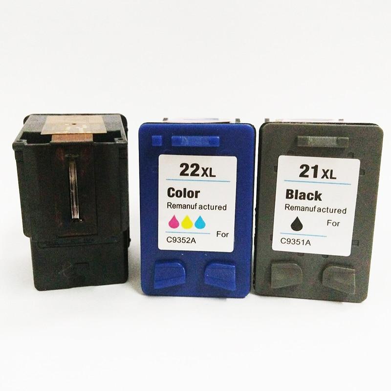 Substituição Do Cartucho De Tinta para HP 21xl 22xl Compatível 21 vilaxh 22 xl Para Deskjet F380 F2180 F2280 F4180 F4100 F300 1320 de Impressora