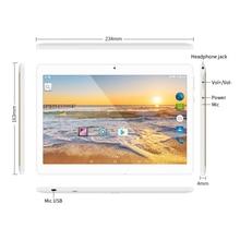 "Yuntab K17 10.1 ""3g Tableta Quad-Core pantalla táctil Android5.1 abrió smartphone con doble cámara Construida en 2 Ranuras Para Tarjetas Sim"