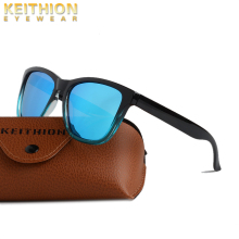 KEITHION Polarized Sunglasses Mens Brand Vintage Square Driving Sun Glasses Women Driver Safety Protect UV400 Eyewear