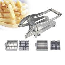 Нержавеющая сталь картофель фри измельчитель резак слайсер огурец Чоппер Кухонные гаджеты кухонные инструменты для приготовления пищи