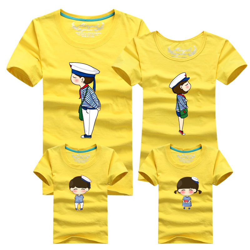 Matching mom and daughter father and son t shirt family ...