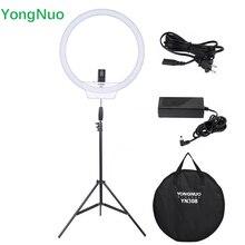Yeni yongnuo yn308 kablosuz led video işık uzaktan halka ışık 3200 K ~ 5500 K 2 m için Işık Standı ve Güç Adaptörü ile Canlı Video