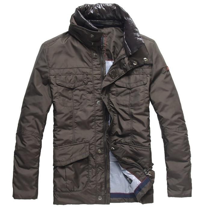 premium selection eb16b cb13e US $102.89 30% di SCONTO|2018 giacca invernale uomo nuovo di marca Top  peuterey uomo nel lungo tratto di pelliccia staccabile collare caldo giacca  ...