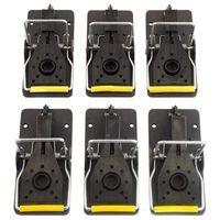 Piège à souris  pièges à pression réutilisables et faciles à utiliser  lot de 6|Pièges| |  -