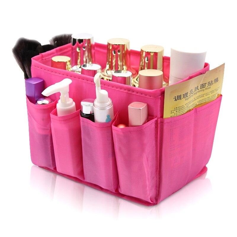 Home Office Desktop Organizer Storage Boxes Oxford Fabrics Storage Decorations Make Cosmetics Storage Box Bag
