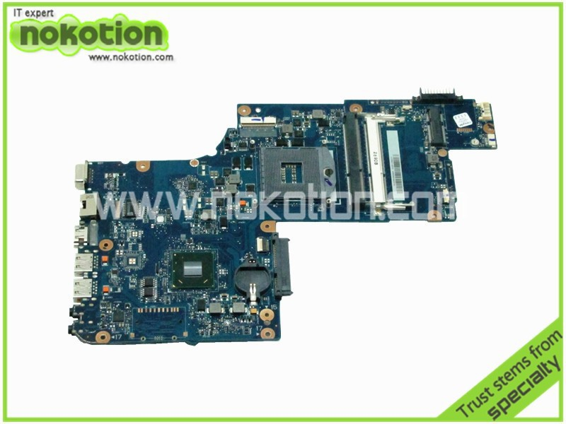 NOKOTION laptop motherboard for toshiba satellite C875 H000046310 HM76 GMA HD4000 DDR3 nokotion h000038230 main board for toshiba satellite c870 c870d laptop motherboard 17 3 inch hm76 gma hd4000 ddr3