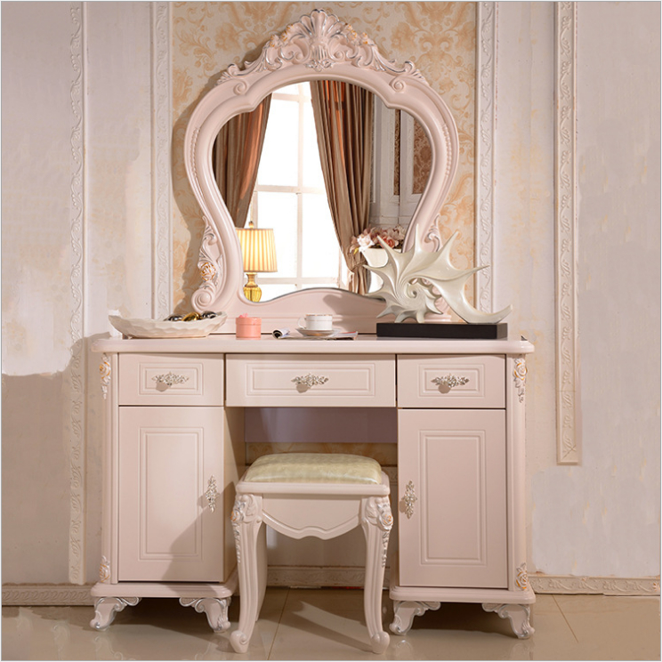 High end modern vanity table luxury home bedroom furniture dressers with table in dressers from - Meuble coiffeuse moderne ...