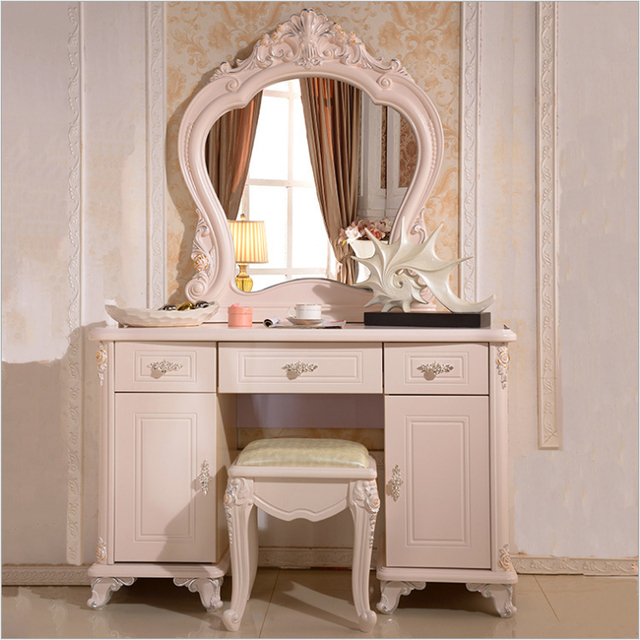 High End Modern Vanity Table Luxury Home Bedroom Furniture Dressers With