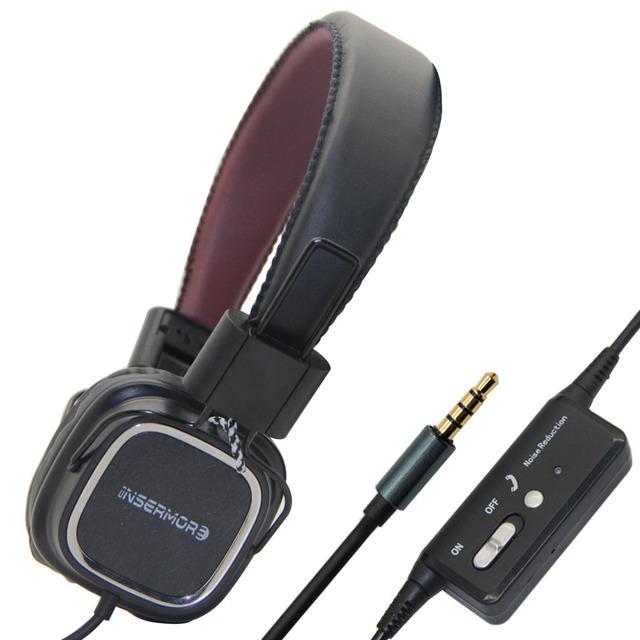 Active Noise Cancelling Headphones Estúdio DJ Headband Com Microfone Dobrável Com Tecnologia de Redução de Ruído Ativo Fone de Ouvido