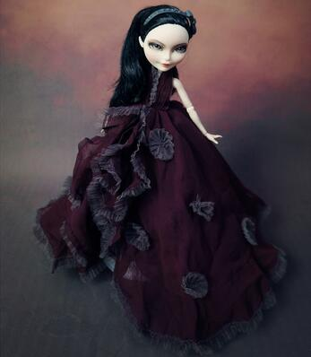 Variety piece skirt dress original for Monster High doll clothes Genuine clothes set school accessories