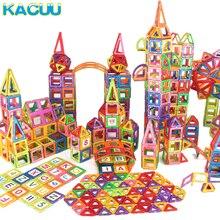 1 pcs Big Size Magnetic Blocks DIY Building Single Bricks Parts Accessory Construct Magnet Model Educational Toys For Children