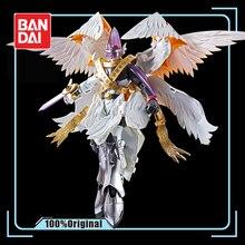 Bandai figura de ação digimon monster holy angemon, espíritos giratórios, modelo de modificação deformável