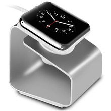 Besegad Aluminium Alloy Charging Charger Dock Station Stand Holder for Apple Watch iWatch Series 1 2 38mm 42mm i Wach iWach