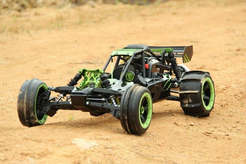 Rovan BAJA 5b 305AS désert phantom dition 30.5cc 2 T engin puissant avec carburateur Walbro et bougies NGK