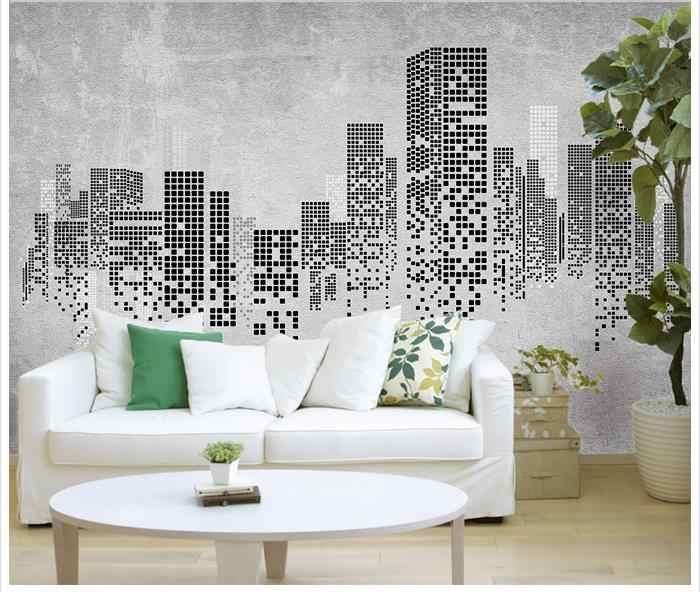 مخصص صور خلفيات 3d الجداريات ورق الجدران 3 d الحنين شعرية حائط الخلفية أوراق لغرفة المعيشة الديكور