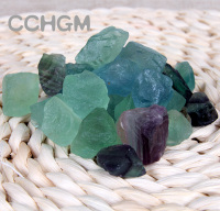 50g 2 3cm Tumbled Gemstone Natural Fluorite Octahedral Cube Small Natural Stones Fluorite Crystal Quartz Crystal