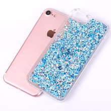 Glitter Dynamic Liquid Diamond Transparent Hard Phone Case
