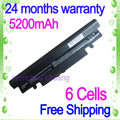 JIGU Laptop Battery For SAMSUNG N150 N218 N143 N145 N148 N230 Black and White