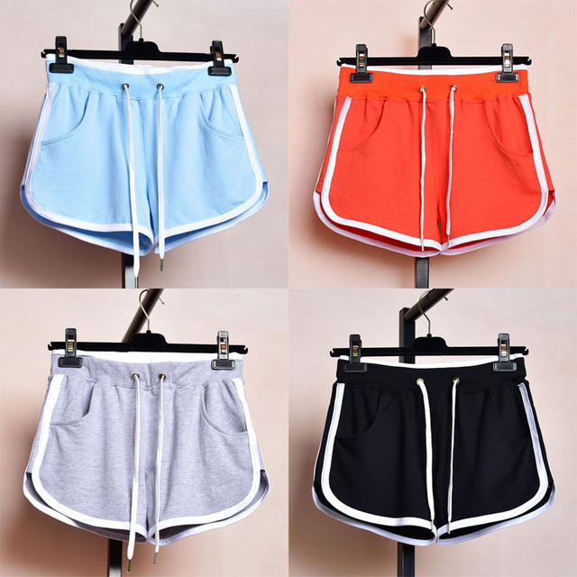2ea8bbe7bdd2 Yoga Shorts Athletic Shorts Running Sport Shorts Female Cotton Running  Basketball Jerseys Yoga Shorts Plus Size