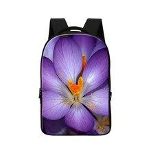 Школьная Сумка цветок печати, Умный Школы женская сумка, Сумка для Ноутбука 14 Дюймов Устройств, предназначен для Школы и Класса, travling мешок