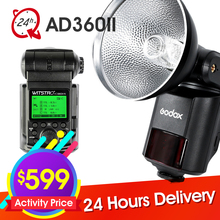 New Godox WITSTRO AD360 AD360II TTL 360W/S Wireless Power Control Outdoor Flash Light For Canon Nikon