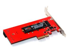 Image 4 - 3 Interfaces M.2 for NVMe SSD for NGFF to PCIE X16 Adapter M Key 2x B Key Riser Card Expansion Card Support PCI Express 3.0 4X