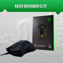 Razer Deathadder エリートゲーミングマウス、 16000 DPI 、シナプス 3.0 、ブランドの新株式、高速配送